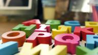Child's alphabet toy